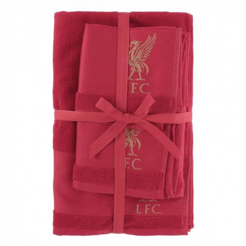 LFC 3-Pack Red Towels
