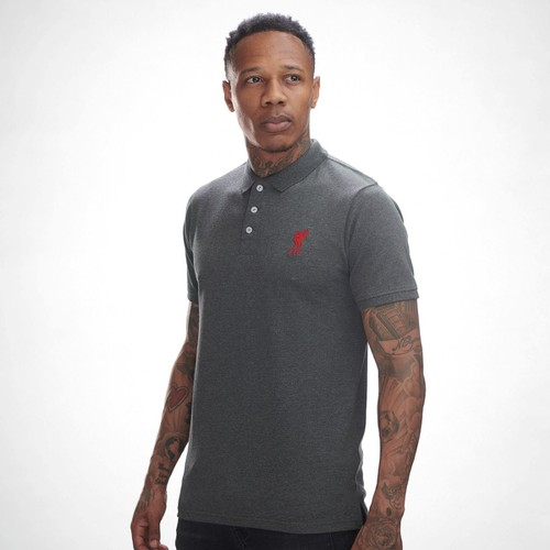 LFC Mens Charcoal Conninsby Polo