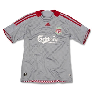 Click here to order your new LFC away shirt 2008