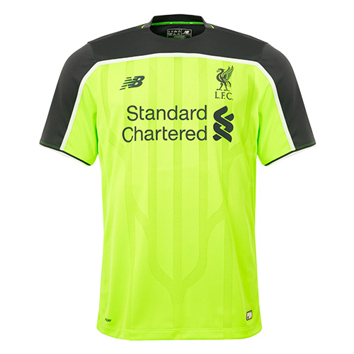 New Liverpool Third Shirt 16-17