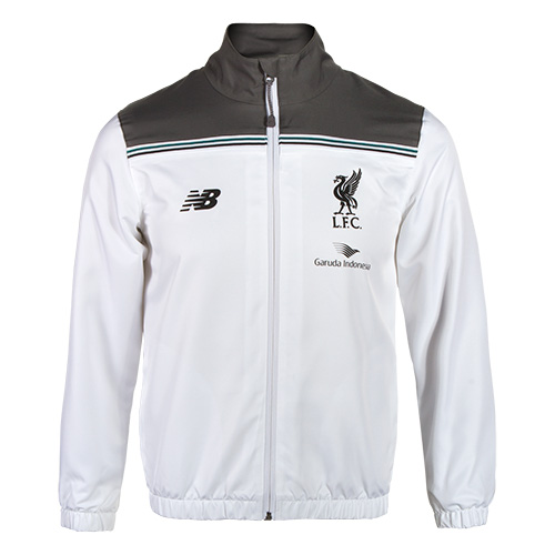 LFC Kids White Third Training Presentation Suit 15/16