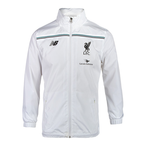 LFC Kids White Third Training Rain Jacket 15/16
