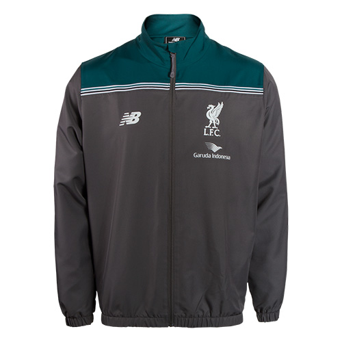 LFC Mens Grey Third Training Presentation Suit 15/16
