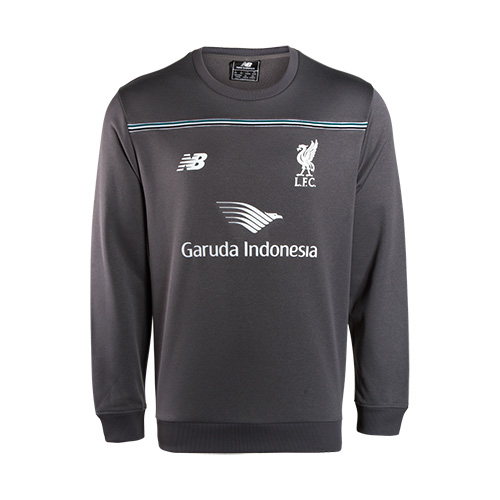 LFC Mens Grey Third Training Sweater 15/16
