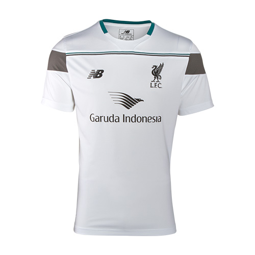 LFC Mens White S/S Third Training Jersey 15/16