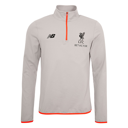 LFC Grey and Orange Player Training Top 16-17