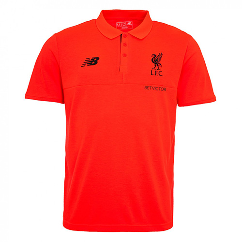 LFC Mens Player Training Polo Shirt 16/17