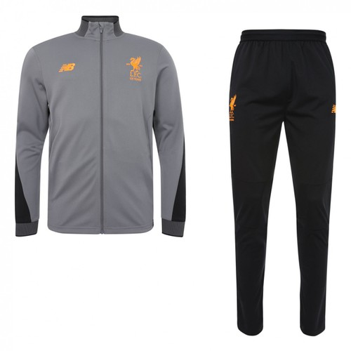2017-18 LFC Kids Grey Tracksuit