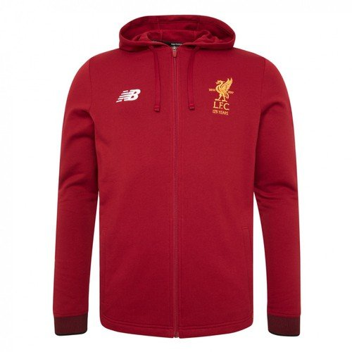 Kids Red LFC Travel Hoody 17/18