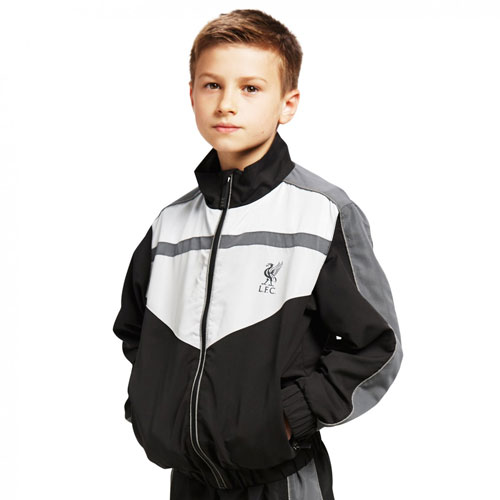 Boys Black LFC Tracksuit