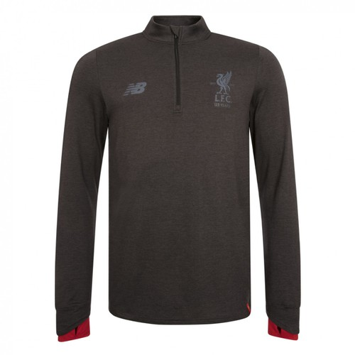 LFC Junior Black Marl Training Mid Layer Top 17/18