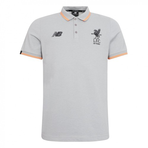 LFC Junior Grey Polo Shirt 2017-18