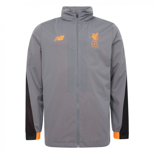 LFC Kids Grey Training Rain Jacket 17/18