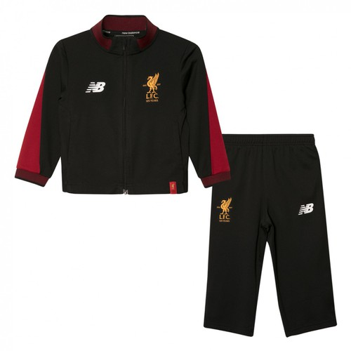 LFC Kids Black and Red Tracksuit 2017-18