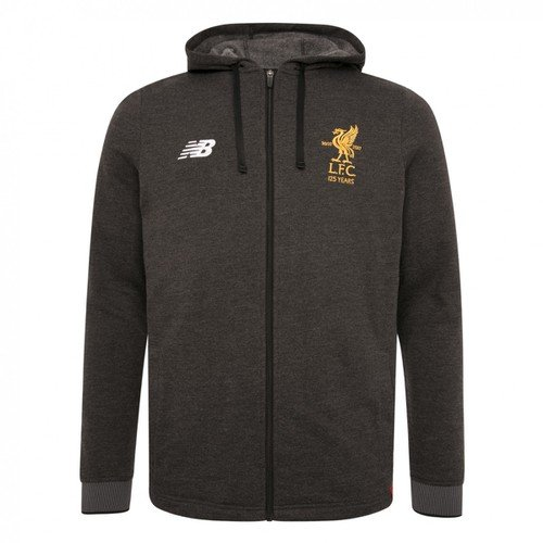 LFC Kids Black Travel Hoody 17/18