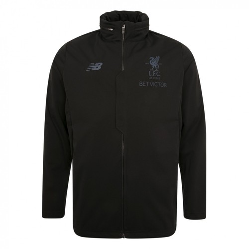LFC Mens Black  Rain Jacket 17/18