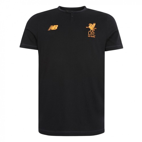 LFC Mens Black T-Shirt 17/18