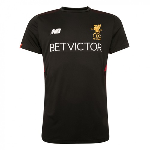 Black LFC Training Motion Short Sleeve 17/18