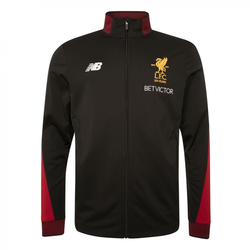 LFC Mens Black Training Tracksuit Jacket 17/18