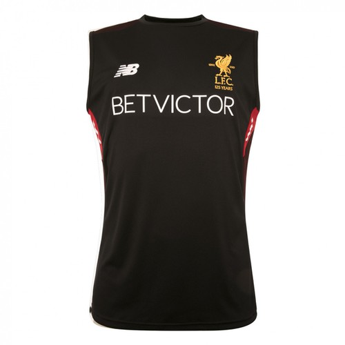 Black LFC Training Vest 17/18
