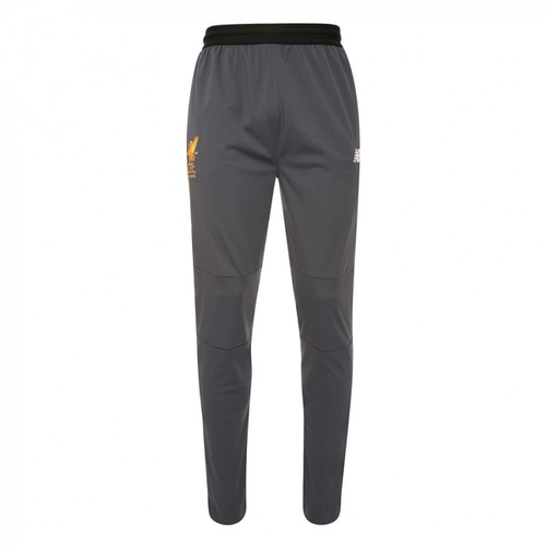 LFC Mens Grey Training Tracksuit Pants 17/18