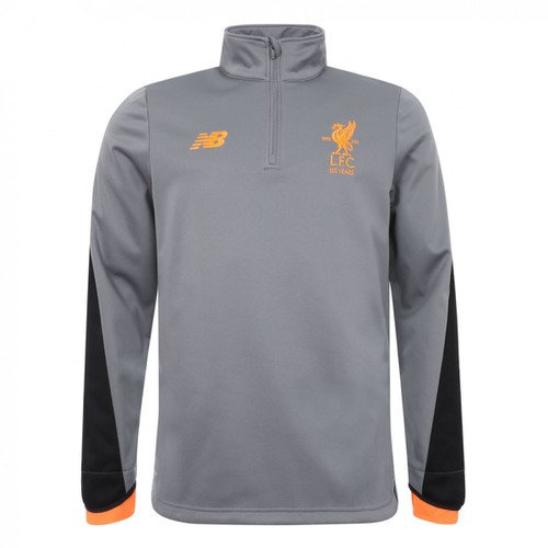 Liverpool FC Mens Grey Training Half-Zip Windblocker 17/18