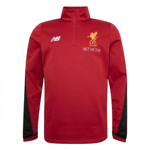 LFC Mens Red  Training Half Zip Windblocker 17/18