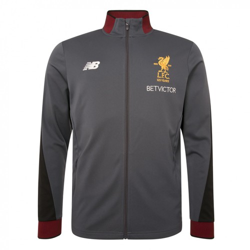 LFC Mens Grey Training Tracksuit Jacket 17/18