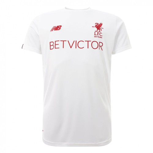 LFC Short Sleeved White Training Shirt - Mens