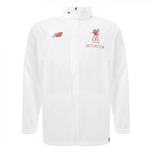 LFC White Mens Rain Jacket 2017/18