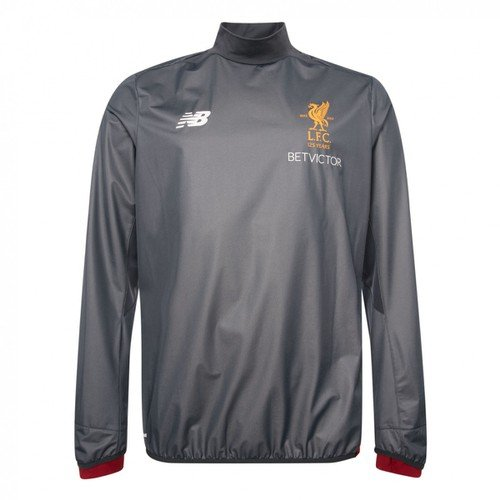 Liverpool Grey Training Drill Top 17/18