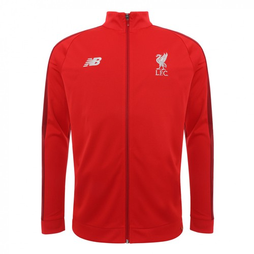 2018-19 Kids Red Training Presentation Jacket