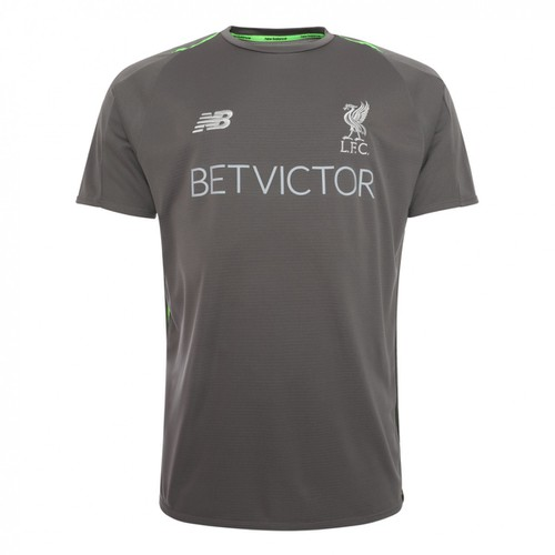 Grey LFC Mens Training Shirt 2018-19