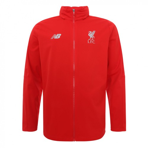 Kids Red LFC Tracksuit Top 2018-19