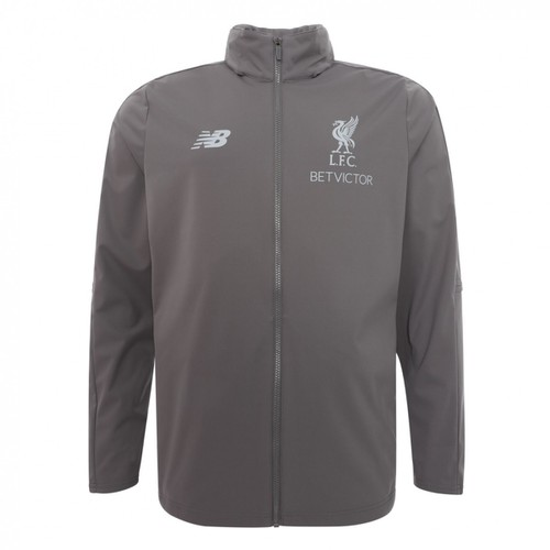 LFC Grey Training Tracksuit Jacket 2018-19 - Mens
