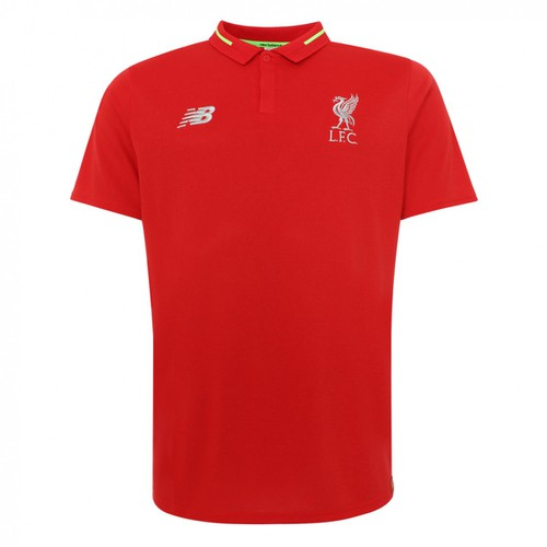 LFC Junior Red Leisure Essential Polo 18/19