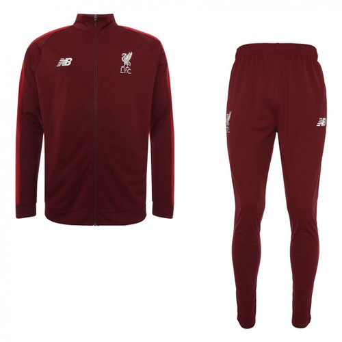 LFC Kids Dark Red Tracksuit 2018-19