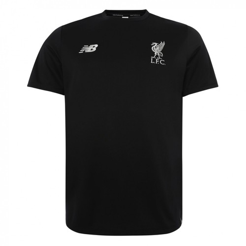 LFC Mens Black Leisure Tee 18/19