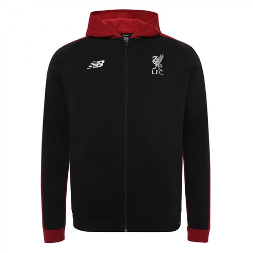 LFC Mens Black Training Leisure Hoody 1819
