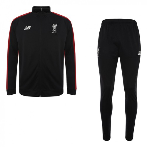 LFC Mens Black Training Presentation Suit 18/19