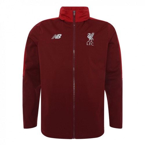 LFC Mens Dark Red Precision Training  Rain Jacket 18/19