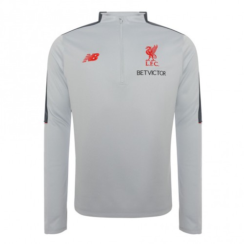 LFC Mens Grey Elite Training Hybrid Sweater 18 19 9a56204ac