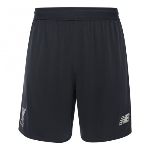 LFC Mens Grey Elite Training Knitted Shorts 18/19