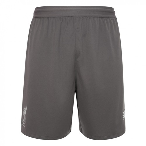 LFC Mens Grey Training Knitted Shorts 18/19