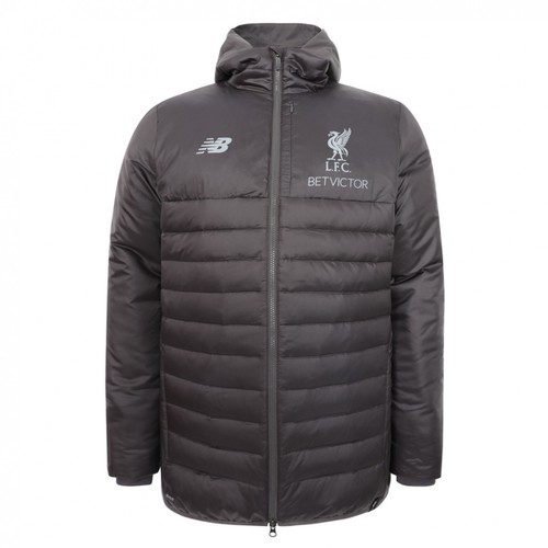 LFC Mens Grey Training Stadium Jacket 18/19