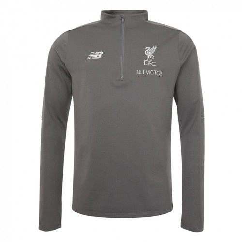 LFC Mens - Grey Training Sweater 2018-19