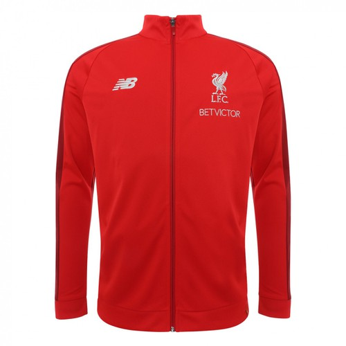 LFC Mens Red Presentation Tracksuit Jacket 2018-19