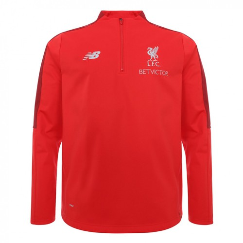 LFC Mens Red Training Quarter Zip 18/19