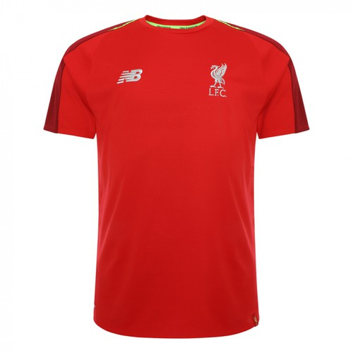 LFC Reds Kids Short Sleeved Training Shirt 2018/19
