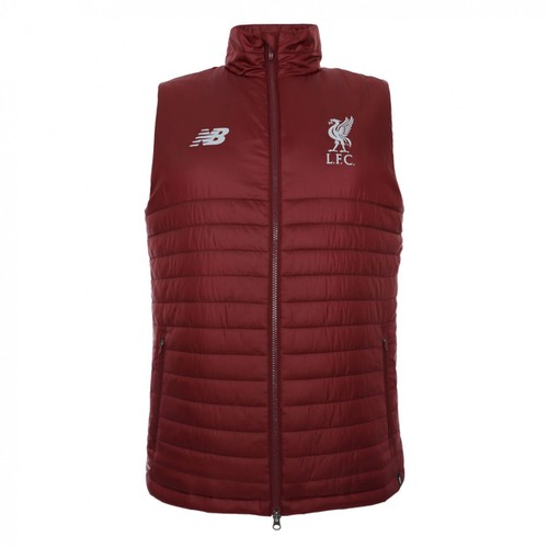 LFC Training Gilet - Dark Red Mens